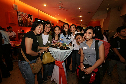 Bloggers at the first Taste Asia dinner.