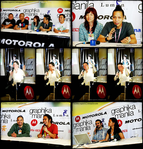 Press conference for Graphika Manila.