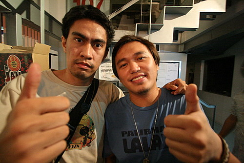 Me with cult icon Ramon Bautista!
