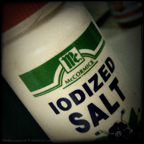 Maybe all we need is iodized salt?