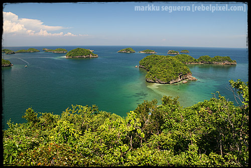 Hundred Islands, Pangasinan. April 2007.
