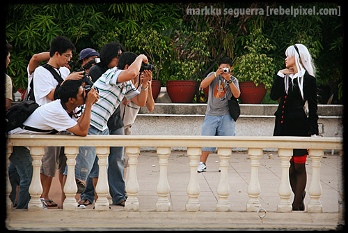 Photographers in action. [1]