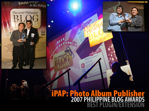 iPAP wins at the 2007 Philippine Blog Awards