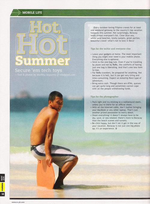 Hot, hot summer.