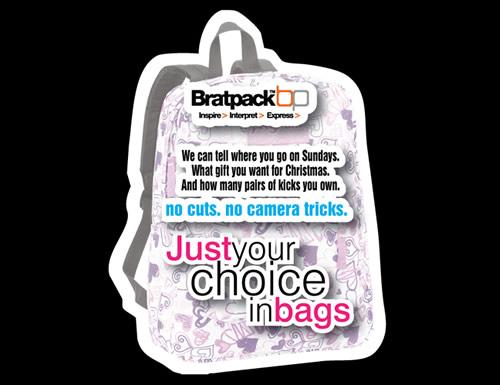 Bratpack bag giveaway.