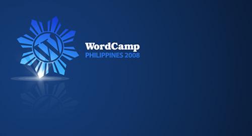WordCamp Philippines 2008.