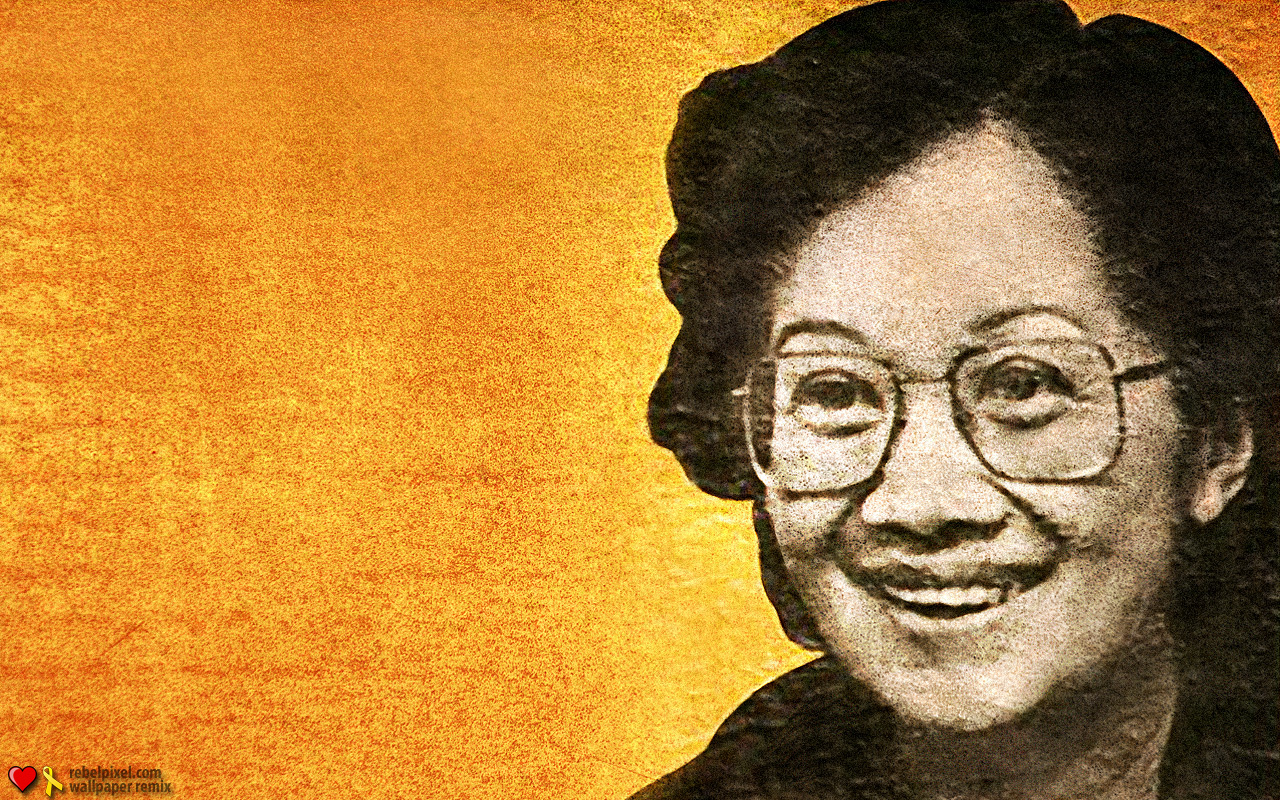 corazon aquino Former philippine president corazon aquino, who sparked a wave of pro-democracy movements around the world by leading a 1986 people power revolt, has colon cancer, her daughter said monday aquino, 75, was swept into power by the peaceful uprising that ousted late dictator ferdinand marcos.