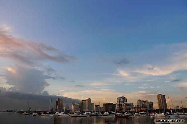 Manila skyline, again.