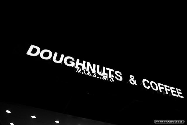 Doughnuts & coffee.