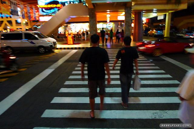 Street crossing.